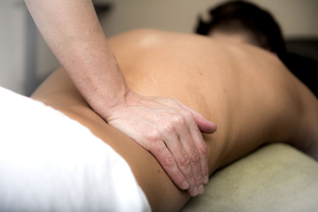 Massage Relaxation Lower Back
